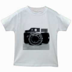Hit Camera (2) Kids' T-shirt (White)