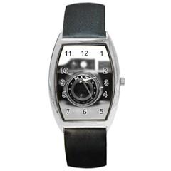 Hit Camera (2) Tonneau Leather Watch