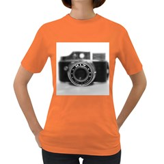 Hit Camera (2) Womens' T-shirt (Colored)