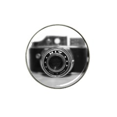 Hit Camera (2) Golf Ball Marker 4 Pack (for Hat Clip)