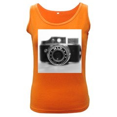 Hit Camera (2) Womens  Tank Top (dark Colored)