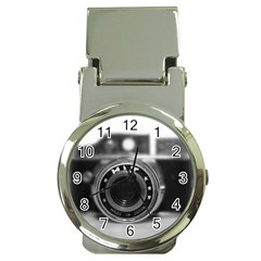 Hit Camera (2) Money Clip with Watch
