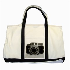 Hit Camera (2) Two Toned Tote Bag