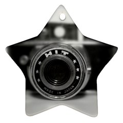 Hit Camera (2) Star Ornament (Two Sides)