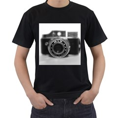 Hit Camera (2) Mens' T Shirt (black)