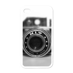 Hit Camera (2) Apple Iphone 4 Case (white)