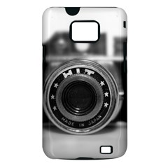Hit Camera (2) Samsung Galaxy S II Hardshell Case (PC+Silicone)