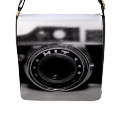 Hit Camera (2) Flap Closure Messenger Bag (Large)