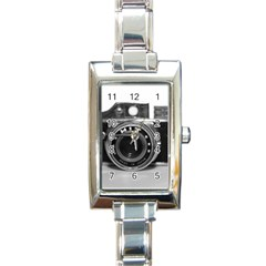 Hit Camera (3) Rectangular Italian Charm Watch