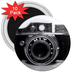Hit Camera (3) 3  Button Magnet (10 Pack)
