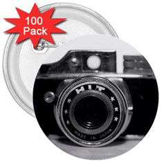 Hit Camera (3) 3  Button (100 Pack)