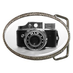 Hit Camera (3) Belt Buckle (oval)