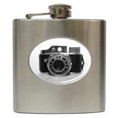 Hit Camera (3) Hip Flask