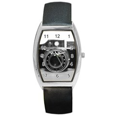 Hit Camera (3) Tonneau Leather Watch