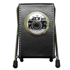 Hit Camera (3) Stationery Holder Clock