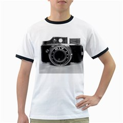 Hit Camera (3) Mens' Ringer T-shirt