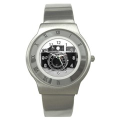Hit Camera (3) Stainless Steel Watch (Unisex)