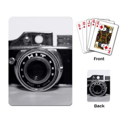 Hit Camera (3) Playing Cards Single Design