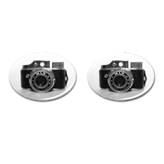 Hit Camera (3) Cufflinks (Oval)