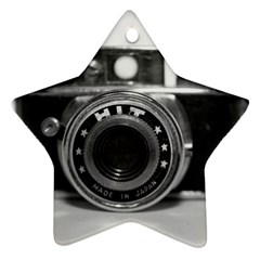 Hit Camera (3) Star Ornament (Two Sides)