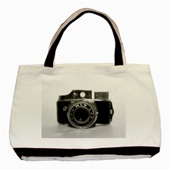 Hit Camera (3) Twin-sided Black Tote Bag