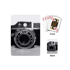 Hit Camera (3) Playing Cards (Mini)