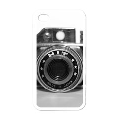 Hit Camera (3) Apple iPhone 4 Case (White)