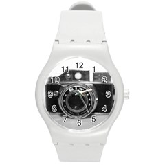 Hit Camera (3) Plastic Sport Watch (medium)