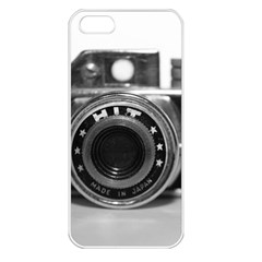 Hit Camera (3) Apple iPhone 5 Seamless Case (White)