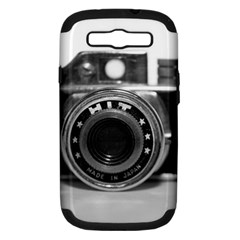 Hit Camera (3) Samsung Galaxy S III Hardshell Case (PC+Silicone)