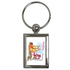 Picatso by PookieCat Key Chain (Rectangle)