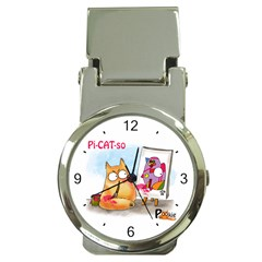 Picatso by PookieCat Money Clip Watch