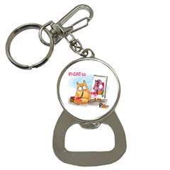 Picatso by PookieCat Bottle Opener Key Chain