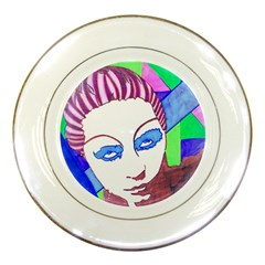 Strong Porcelain Display Plate