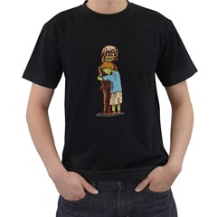 Mummy! Mens' Two Sided T Shirt (black)