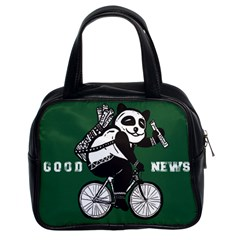 Goodnews Classic Handbag (two Sides)