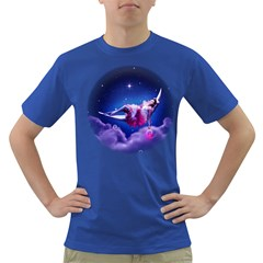 Sexy Moon Girl Mens' T-shirt (Colored)