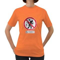 Werewolf Forbidden Womens' T-shirt (Colored)