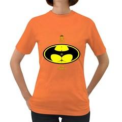 I Love My BatMan Womens' T-shirt (Colored)