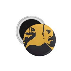 POWER WITH LENIN 1.75  Button Magnet