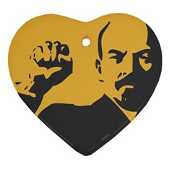 Power With Lenin Heart Ornament