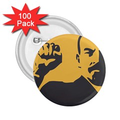 POWER WITH LENIN 2.25  Button (100 pack)
