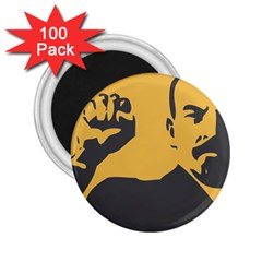 POWER WITH LENIN 2.25  Button Magnet (100 pack)