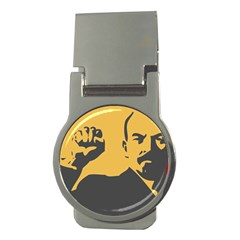 Power With Lenin Money Clip (round)