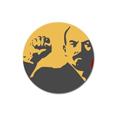 Power With Lenin Magnet 3  (round)