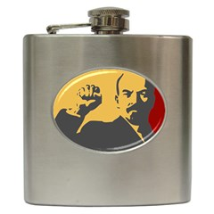 Power With Lenin Hip Flask