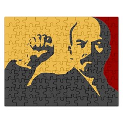 POWER WITH LENIN Jigsaw Puzzle (Rectangle)