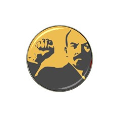 POWER WITH LENIN Golf Ball Marker 10 Pack (for Hat Clip)