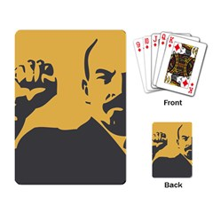Power With Lenin Playing Cards Single Design