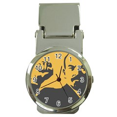 POWER WITH LENIN Money Clip with Watch